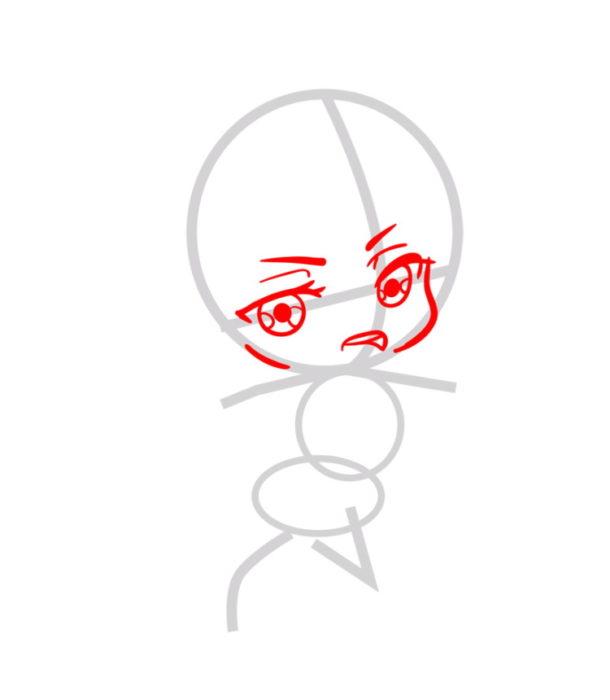 Как нарисовать Микасу из аниме 2