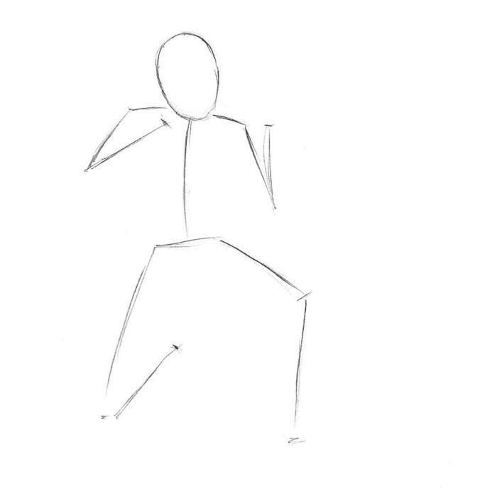 Как нарисовать советского солдата 1