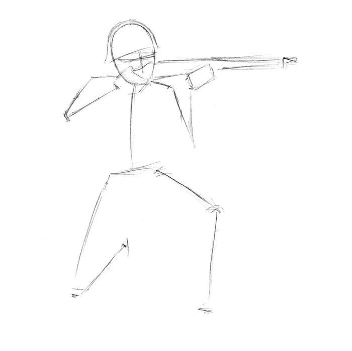 Как нарисовать советского солдата 2