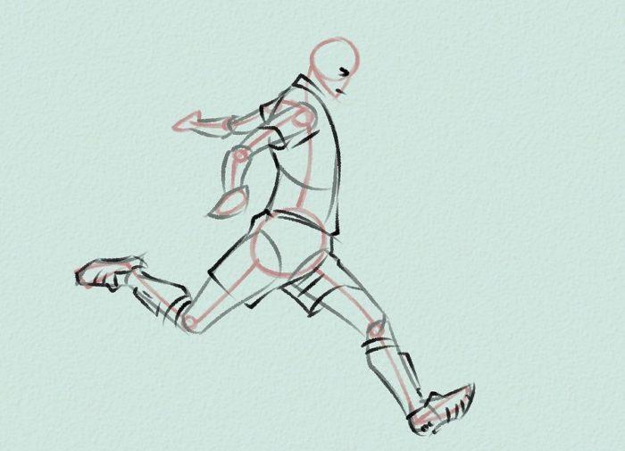Как нарисовать форварда 3