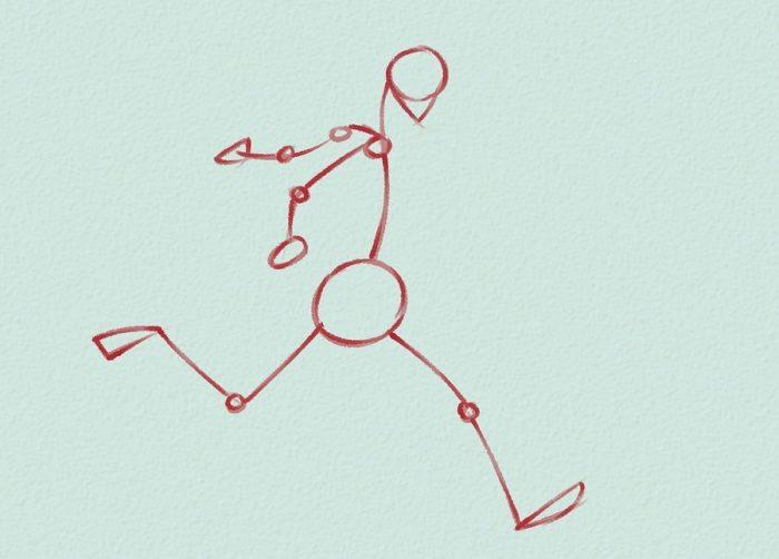 Как нарисовать форварда