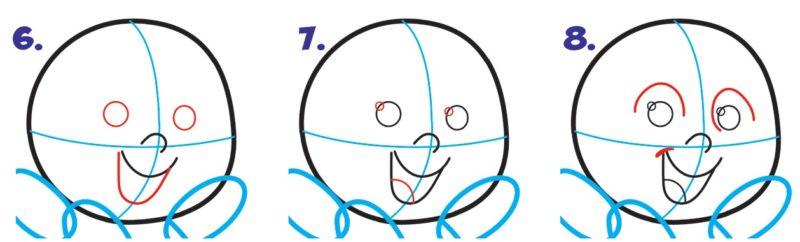 Как нарисовать Джек Джека 3