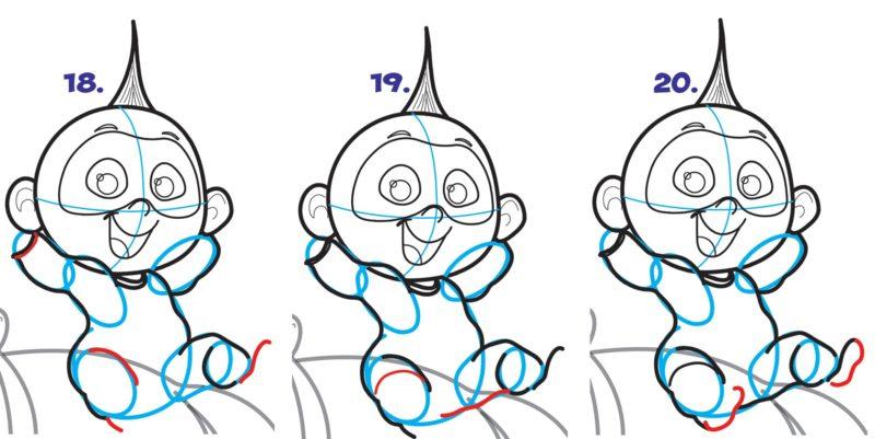 Как нарисовать Джек Джека 7