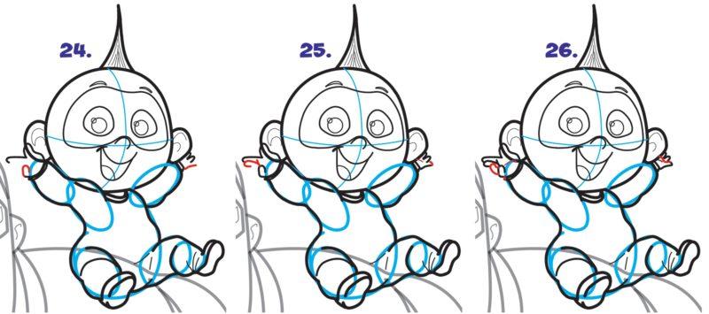 Как нарисовать Джек Джека 9