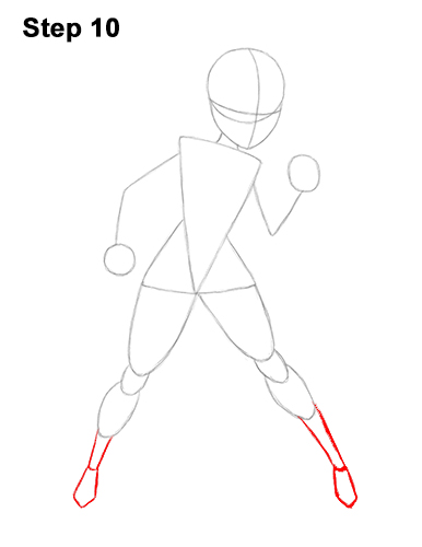 Как нарисовать Эластику 10