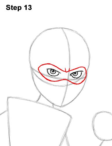 Как нарисовать Эластику 13
