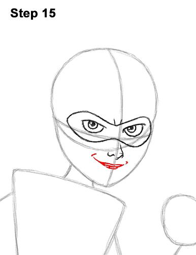 Как нарисовать Эластику 15
