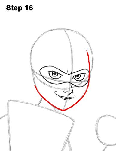 Как нарисовать Эластику 16