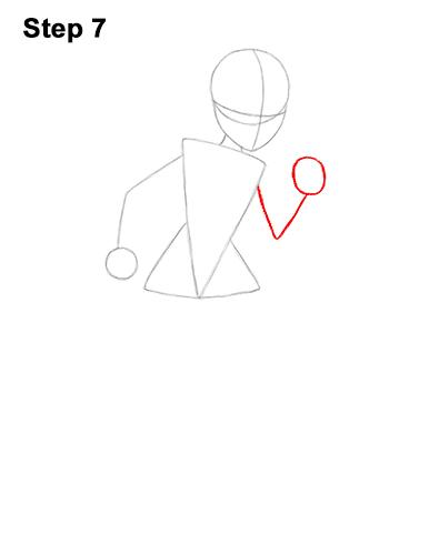 Как нарисовать Эластику 7