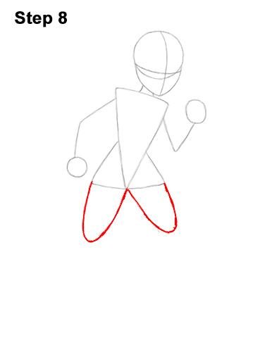 Как нарисовать Эластику 8