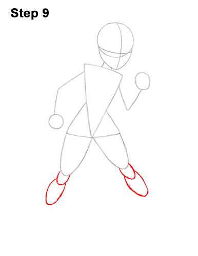 Как нарисовать Эластику 9
