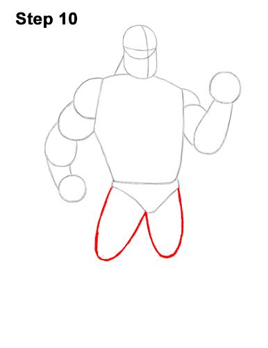 Рисуем Мистера Исключительного 10