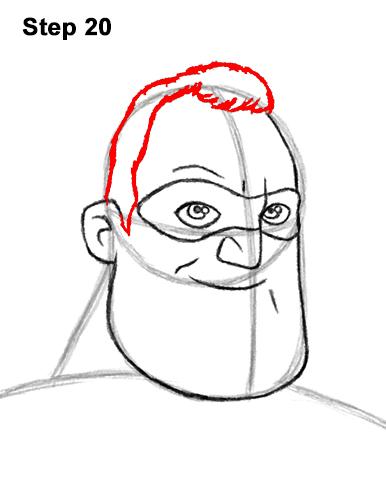 Рисуем Мистера Исключительного 20