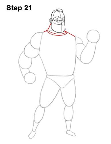 Рисуем Мистера Исключительного 21