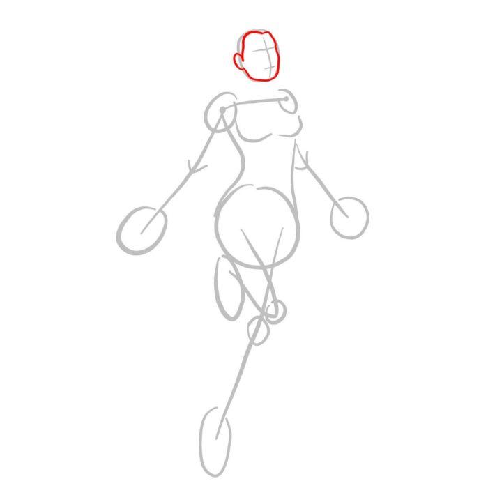 Как нарисовать Капитана Марвел 2