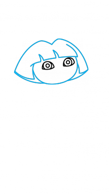 рисуем Дашу 5