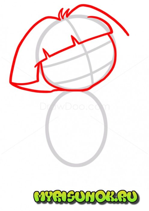 Как нарисовать Дашу путешественницу2