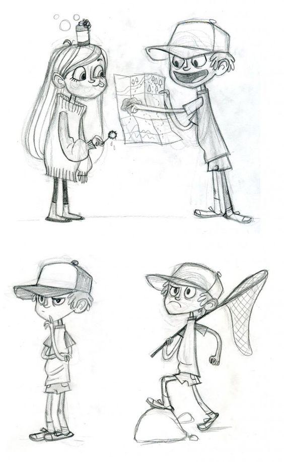 Срисовки Гравити Фолз 13