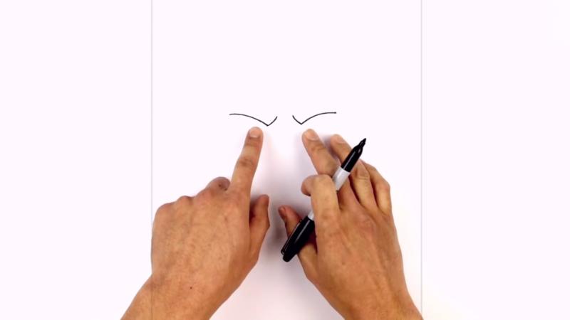 Как нарисовать Аквамена из фильма 1