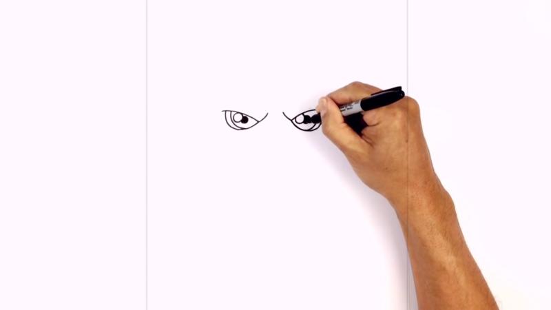Как нарисовать Аквамена из фильма 3