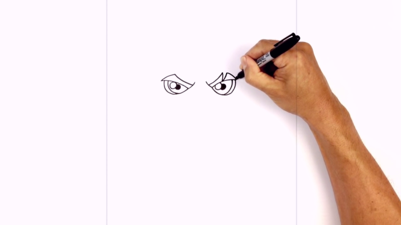 Как нарисовать Аквамена из фильма 4