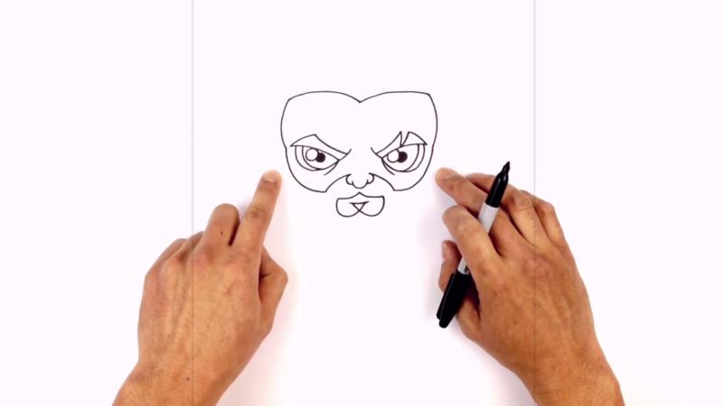 Как нарисовать Аквамена из фильма 8