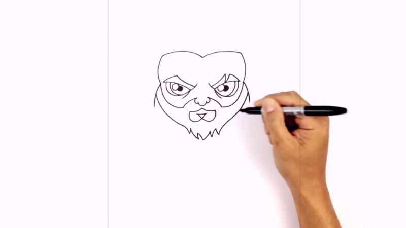 Как нарисовать Аквамена из фильма 9