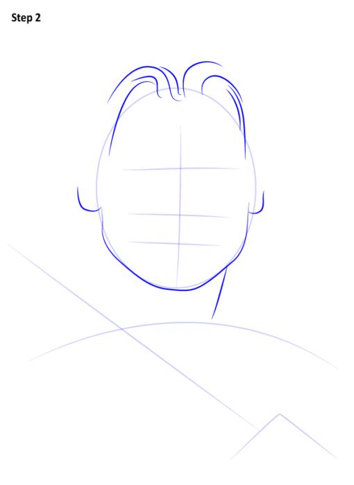 как нарисовать Джейме Ланнистера3