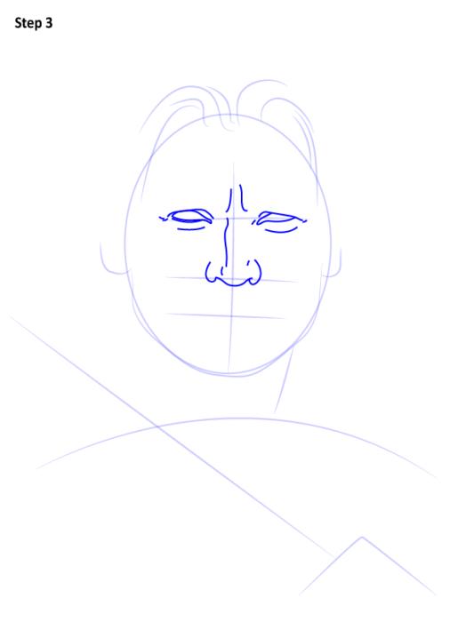 как нарисовать Джейме Ланнистера4