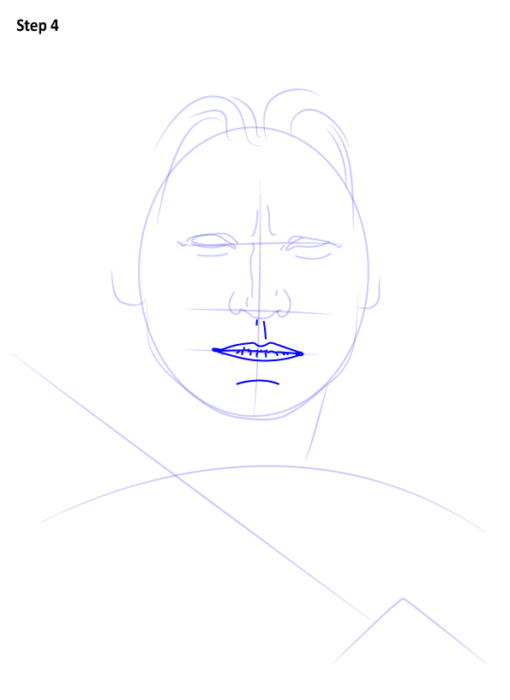 как нарисовать Джейме Ланнистера5