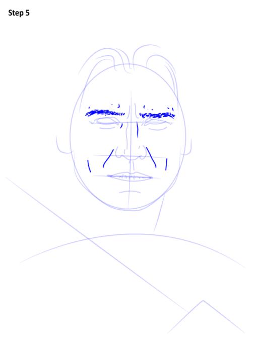 как нарисовать Джейме Ланнистера6