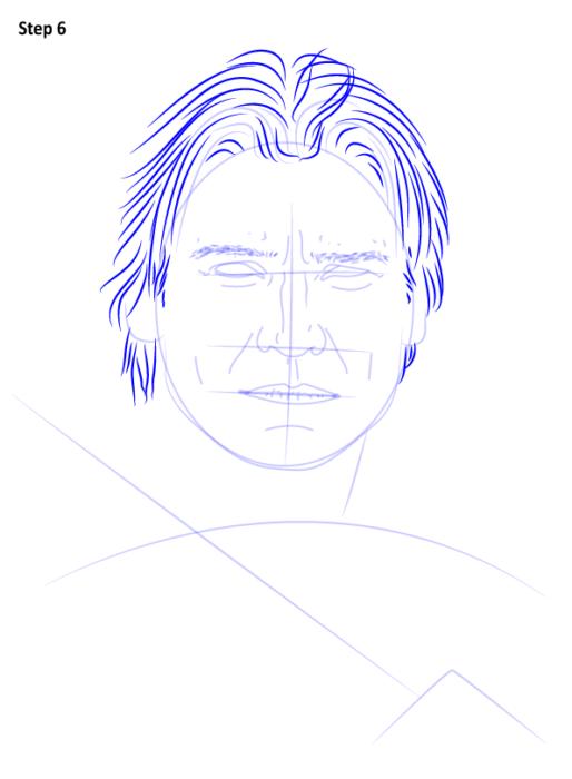 как нарисовать Джейме Ланнистера7