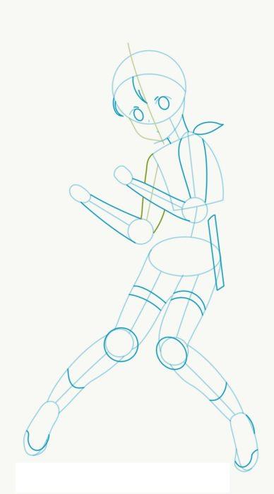Как нарисовать Карэн изМастера Меча Онлайн 3