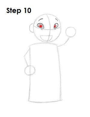Как нарисовать Лило из мультфильма 10