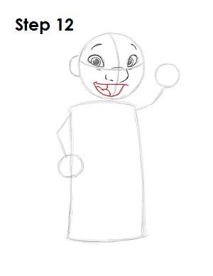 Как нарисовать Лило из мультфильма 12