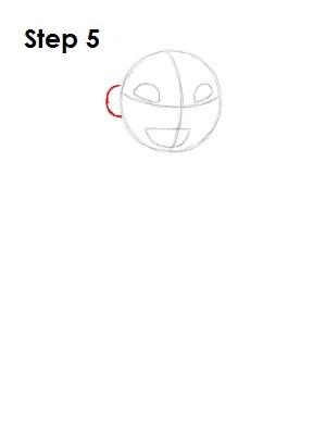 Как нарисовать Лило из мультфильма 5