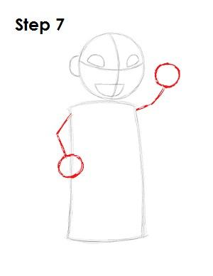 Как нарисовать Лило из мультфильма 7