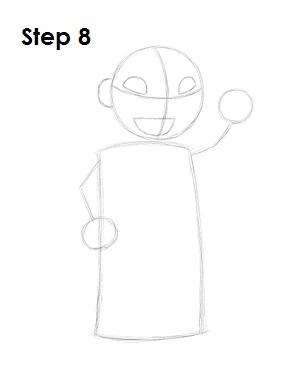 Как нарисовать Лило из мультфильма 8