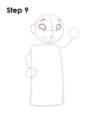 Как нарисовать Лило из мультфильма 9