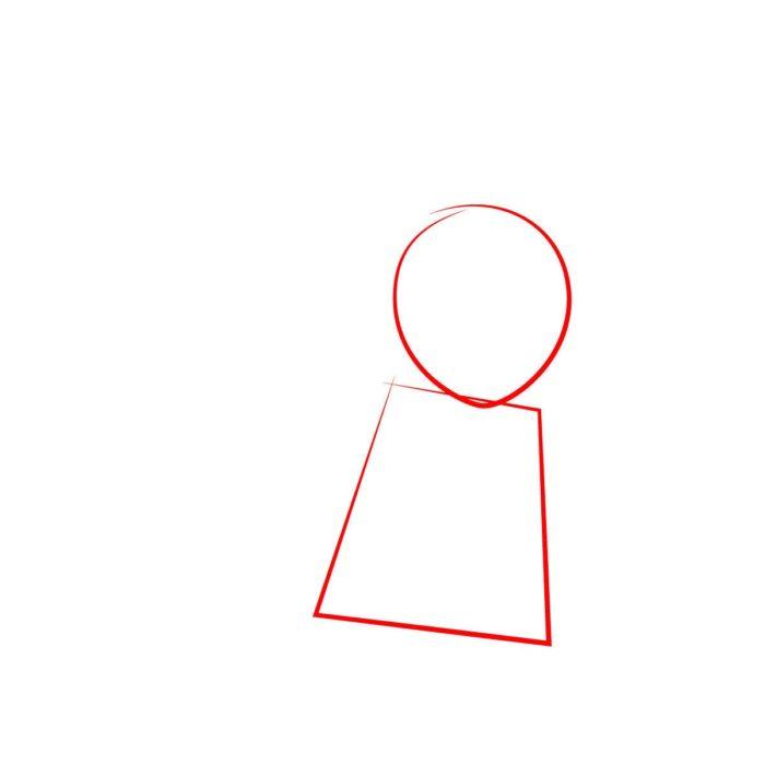 Как нарисовать Ллойда из Лего 1