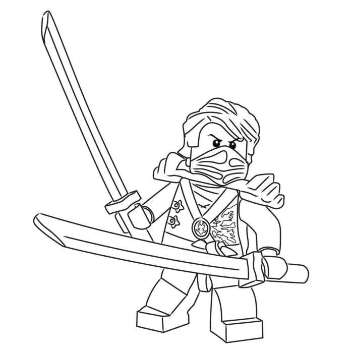 Как нарисовать Ллойда из Лего 13