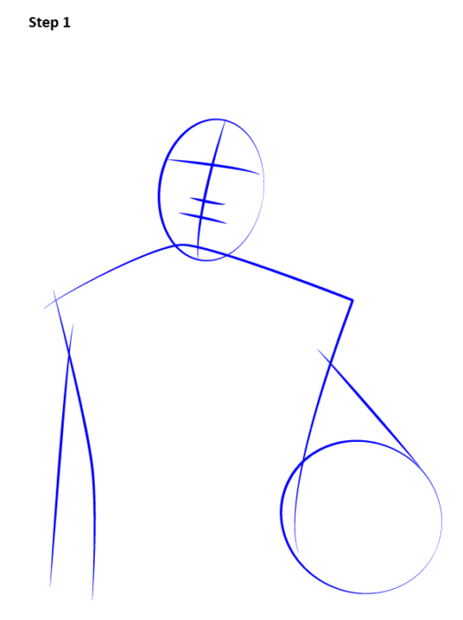 Как нарисовать футболиста Неймара 2