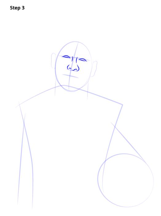 Как нарисовать футболиста Неймара 4