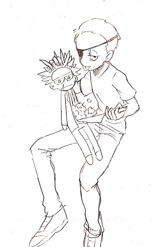 Картинки для срисовки Рика и Морти 11