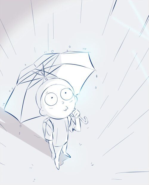 Картинки для срисовки Рика и Морти 2