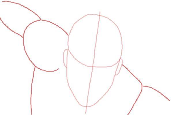 Как поэтапно нарисовать Вижена 3