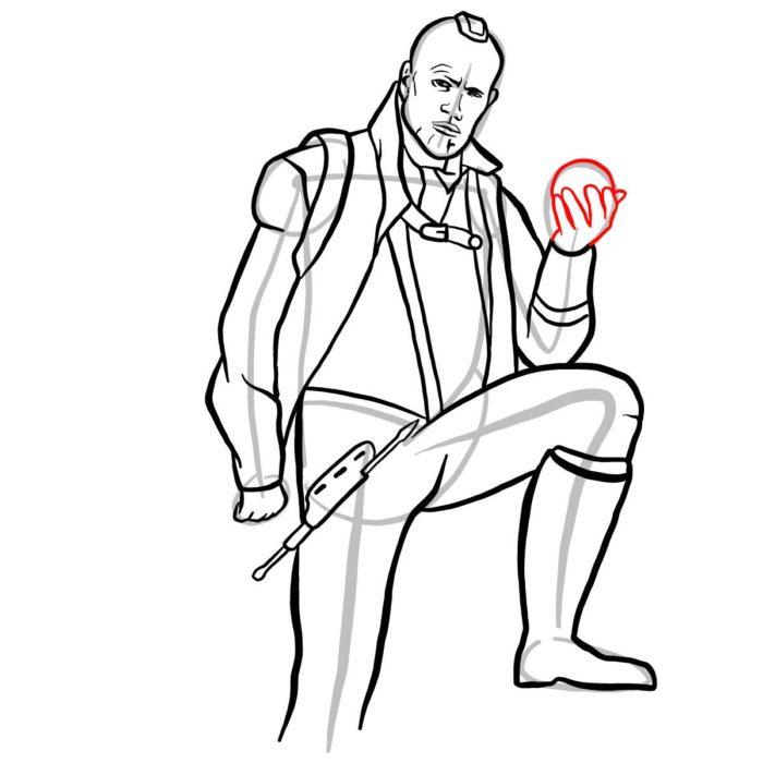 Как нарисовать Йонду 12