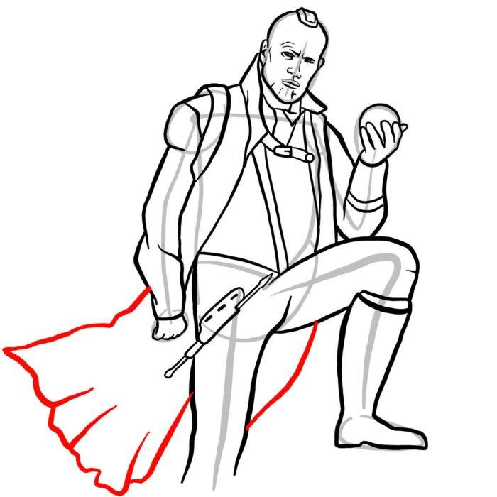 Как нарисовать Йонду 13