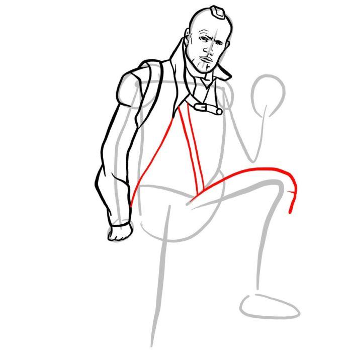 Как нарисовать Йонду 7