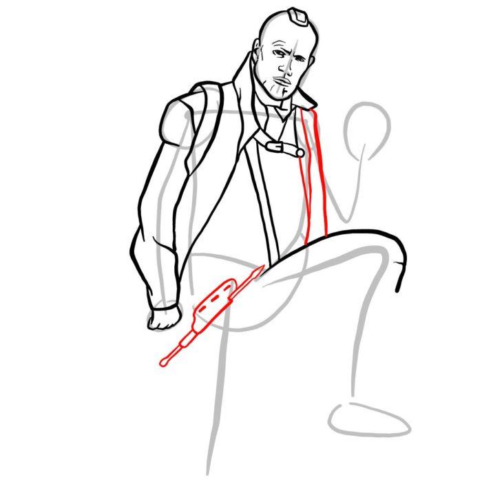 Как нарисовать Йонду 8